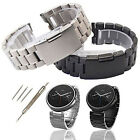 New Stainless Steel Watch Band Strap For 1st Gen Motorola Moto 360 Smart Watch image