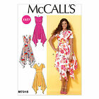 McCalls 7315 Very Easy to Make Handkerchief Hem Dress Sewing Pattern M7315