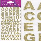 LETTERS NUMBERS STICKERS Self Adhesive Glitter Alphabet Embellishment Card Craft
