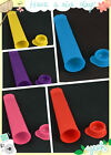Lot3 Colors Silicone Popsicle Mold ice Lolly Ice Pop Ice Cream Mold Snack Marker