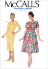 McCalls 7086 Mod 60s 1963 Dress inc PLUS SIZE Retro Vintage Sewing Pattern M7086