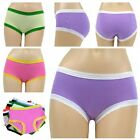 Elastic Everyday Underwear Cotton Panties Knickers Briefs L