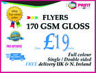 Custom 170gsm Gloss A3 flyers / A4 flyers / A5 flyers / A6 flyers -Free Delivery