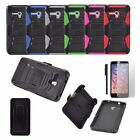 LUXCA [Robust Series] Dual Layer Case Belt Clip for Alcatel One Touch Fierce XL