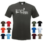 'Probably the Best Scaffolder in the World' Funny Men's T-shirt