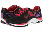 Dansko Womens SHAYLA Black/Hot Pink Lace Up Walking Shoes 4201500239