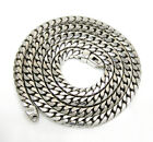 """14K White Gold Franco Italy Box Mens Ladies Chain Necklace 4.3mm 22-30"""""""