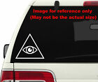 2x Illuminati Sign Logo *Pick Color & Size* Die Cut Stickers Decals #a1343