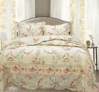 Rose Romance 100% Cotton Quilt Set, Bedspread, Coverlet image