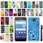 For Kyocera Hydro Wave C6740 Air C6745 NEW TPU SILICONE Rubber Case Cover + Pen