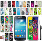 For Samsung Galaxy S4 mini I9190 NEW TPU SILICONE Rubber Soft Case Cover + Pen