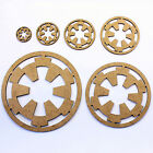 Star Wars Imperial Symbol Craft Shapes, Embellishments. 2mm MDF Wood £2.94 GBP on eBay