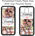 Personalized Custom Family Photo Picture Phone Case For iPhone 4 5 6 7 8 Plus