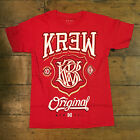 Krew Champ tee - Red Casual T-Shirt New  - Size: S / L / XL