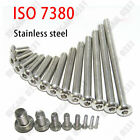 4mm/M4 - 304 Stainless Steel - Hex Socket BUTTON HEAD Screws ISO 7380 A2/70 18-8