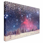 Snowy Galaxy Canvas wall Art prints high quality great value