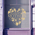 Happy Mothers Day Wall & Window Stickers Mother Decals Shop Window Display A336