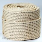 28mm NATURAL SISAL ROPE COILS, DECKING, GARDEN, CAT SCRATCHING POST, PARROT TOYS