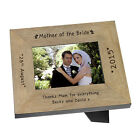 Mother Of The Bride Wood Frame 6x4 Personalised Engraved Wedding Gift Present