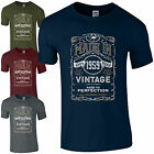 Made in 1959 T-Shirt Born 59th Year Birthday Age Present Vintage Funny Mens Gift