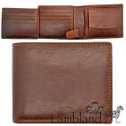 Mens / Gents High Quality Hand Finished Genuine Leather Organiser Wallet