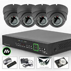 4x Sony Chip 700TVL Varifocale Casa Ufficio Cam 8 can. HDMI sistema CCTV UK