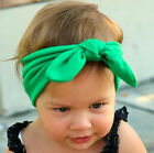 child Girls Baby Kids Retro Ear Bow bunny Party Headband Hair head band bandana