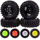 4x RC 1:10 Racing Climbing Rock Crawler Wheel Rim & 96MM Tyre Tires 4025-7006