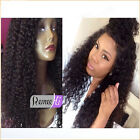 Spanish Curly Indian Human Remy Hair Front Wigs Full Lace Wig Baby Hair Around