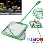 Aquarium Fish Tank Net All Sizes Fish Green Tropical Coldwater Pond Genuine New