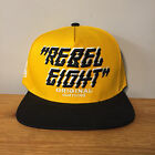 Rebel 8 since 2003 Snapback Brand New Cap yellow / black