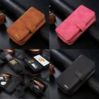 Portable Zipper Wallet Card Holder Purse Pouch Case Cover for iPhone 6 6s Plus