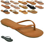 Внешний вид - NEW Womens Summer Comfort Casual Thong Flat Flip Flops Sandals Slipper shoes