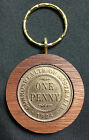 90th Birthday gift present 1926 Jarrah Penny Keyring other years available