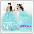 Flower Girl Dresses for Party Birthda Wedding Bridesmaid Prom Ball Gown PageantG