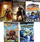 Sony Playstation PSP GAMES LOT - 5 GAME BUNDLE! (Retail Value: $89.95) NEW