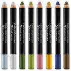 Max Factor Wild Shadow Pencil 2-in-1 Gel Shadow + Liner ~ Assorted Shades~ New