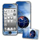 Skin / Decal for iPhone 5/5S with Flag of Cook Islands - Many Designs