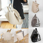 Korea Fashion Women Anpang Backpack Tote School Travel Business Bag Faux Leather