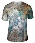 "Yizzam - Rhead - ""Mermaid Octopus""-  New Men Unisex Tee Shirt"