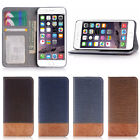 Flip Leather Wallet Case Cover For Apple iPhone 7 7 Plus / iPhone 6 /6S Plus /SE
