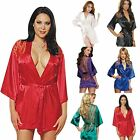 Hot Sexy Women Lingerie Lace Sleepwear Robe G-string Nigh  Dress Underwear