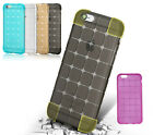 3D Luxury Shockproof Crystal Clear Soft TPU Cubic Silicone Gel Rubber Case Cover