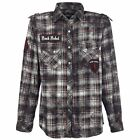 Rock Rebel by EMP  Camicia - Checked Flannel Shirt