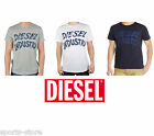Mens New Diesel 1978 T-Ehm T-Shirt Casual Crew Neck Navy Black White Top Shirt
