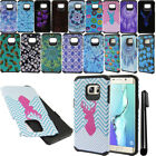For Samsung Galaxy S6 Edge+ Plus G928 Shockproof HYBRID HARD Case Cover + Pen