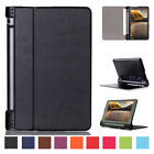 "Luxury Leather Flip Kickstand Case Wake Cover For Lenovo Yoga 3 850F 8"" Tablet"