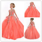Flower Girl Dresses for Birthday Wedding Pageant Prom Party Communion New