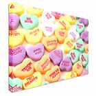 Kids love heart sweets Canvas wall Art prints high quality great value