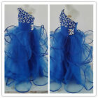 Flower Girl Dresses for Wedding Bridesmaids Prom Pageant Birthday One Shoulder